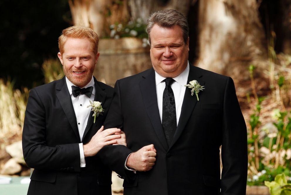 Mitchell modern family wedding