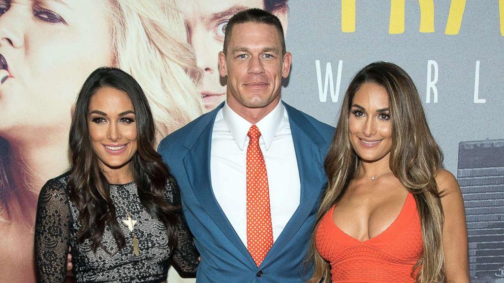 Brie Bella slams reports that she hates sister's ex John Cena