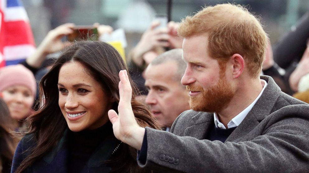 Prince Harry, Meghan Markle visit Edinburgh on Valentine's Day eve