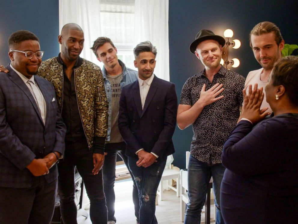 PHOTO: A production still is seen from Queer Eye.