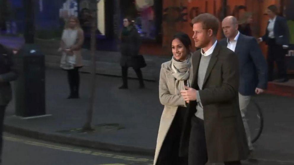 WATCH:  Prince Harry, Meghan Markle visit Edinburgh