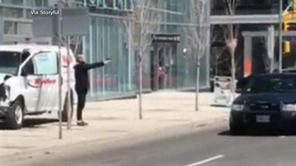 WATCH:  10 dead after van hits pedestrians in Toronto