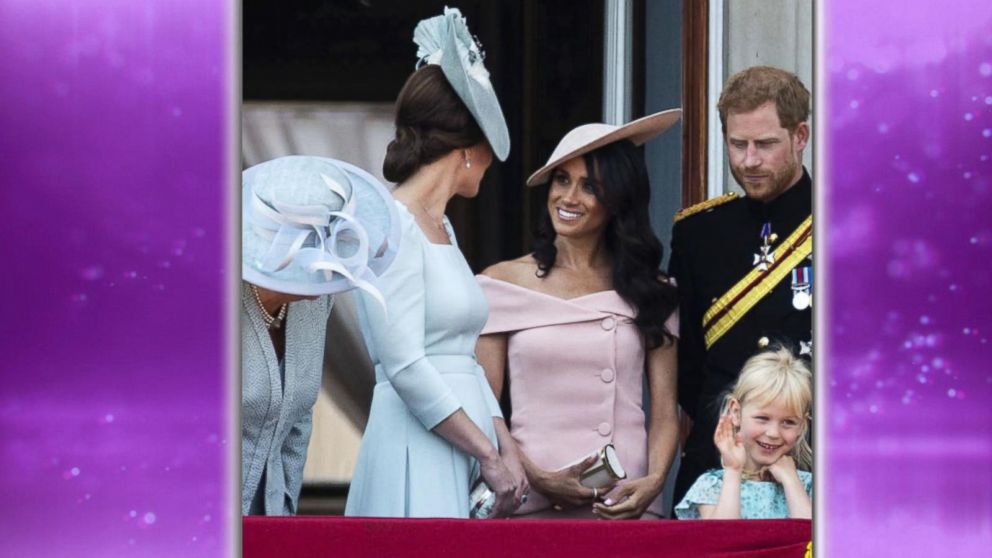 WATCH:  Meghan Markle joins royal family at Trooping the Colour
