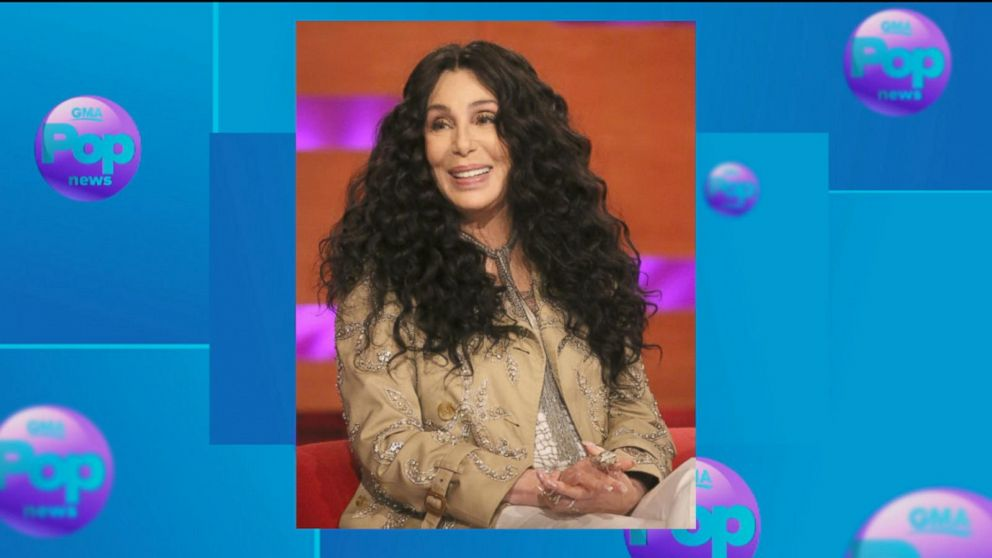 WATCH:  Cher gets sneak peek of Broadway musical chronicling her life