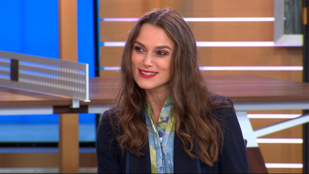 WATCH:  Keira Knightley reveals she only watched 'Love Actually' once 15 years ago