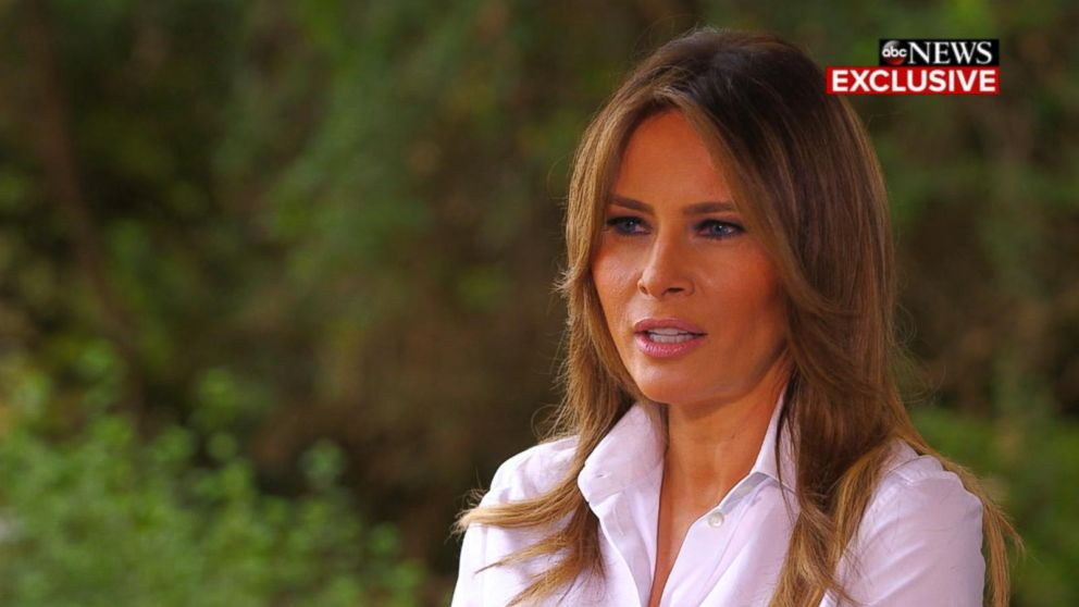 WATCH:  Melania Trump says she's one of the most bullied people in the world