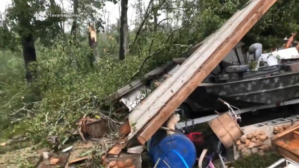 WATCH:  Hurricane Michael strikes Georgia as Category 3 storm