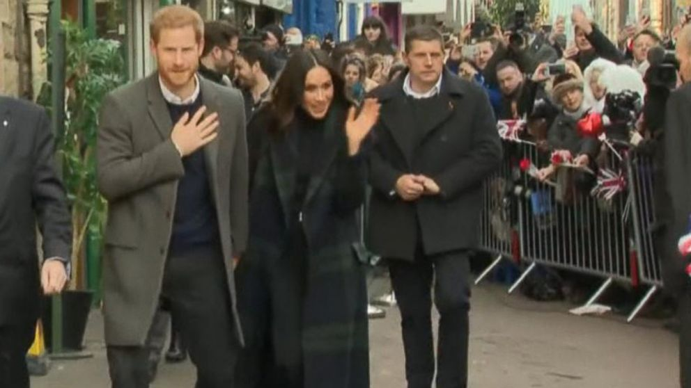 WATCH:  Royal baby watch! Meghan Markle and Prince Harry are expecting