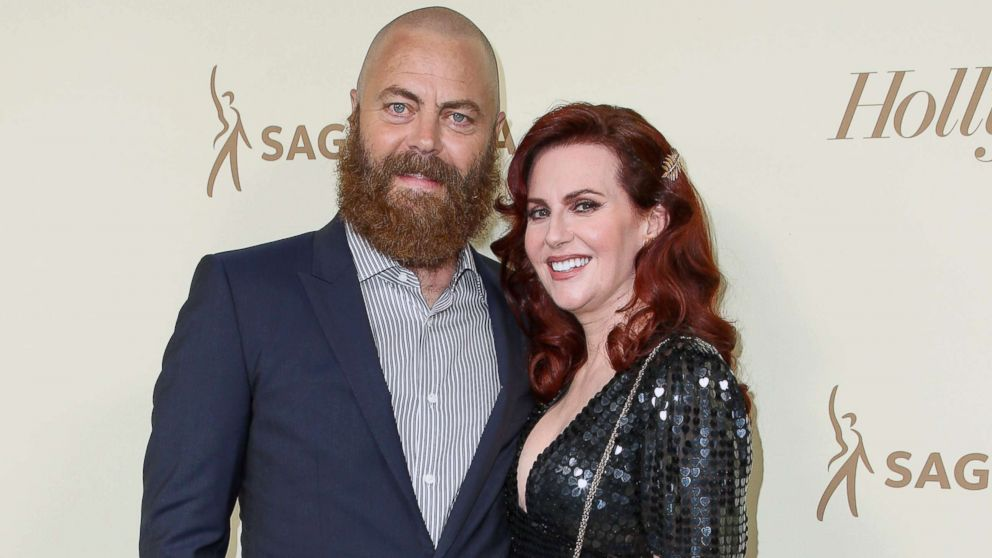 Nick Offerman and Megan Mullally share their 15-year love story in new book