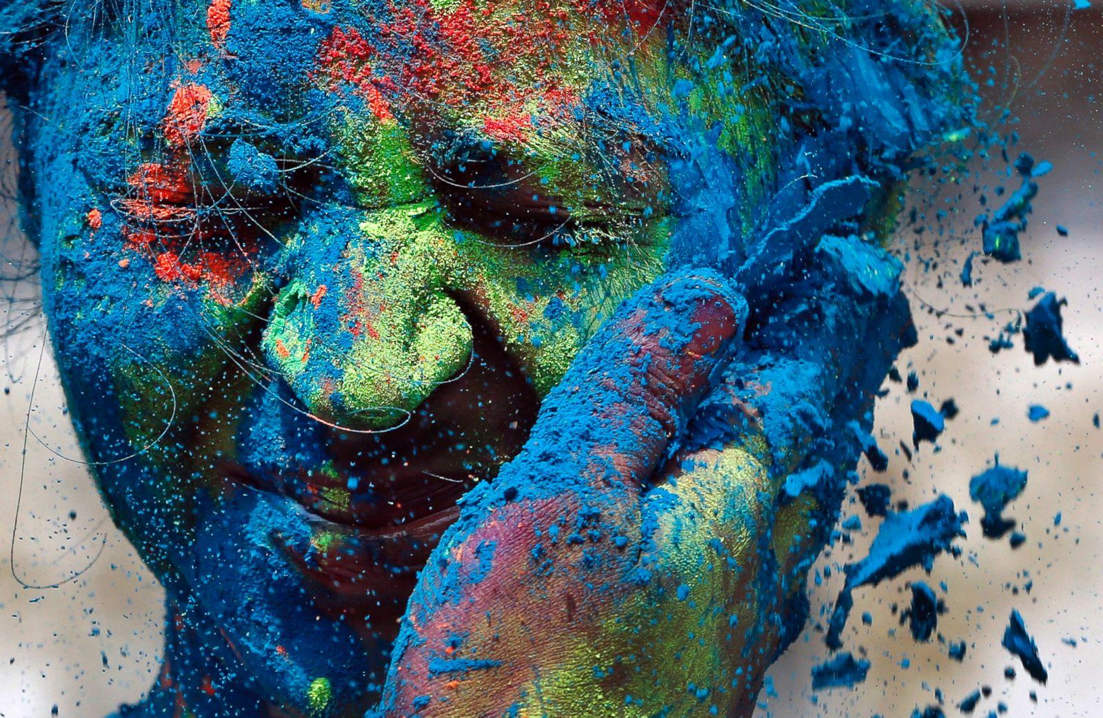Как сделать краску как в индии
