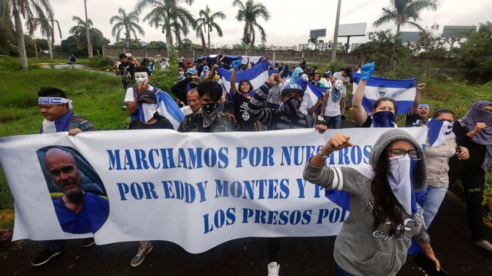 Nicaragua government releases 50 more political prisoners