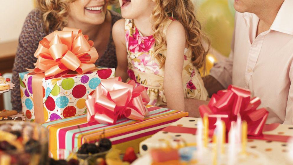 Подарок на день рождения для детей 5-6 лет