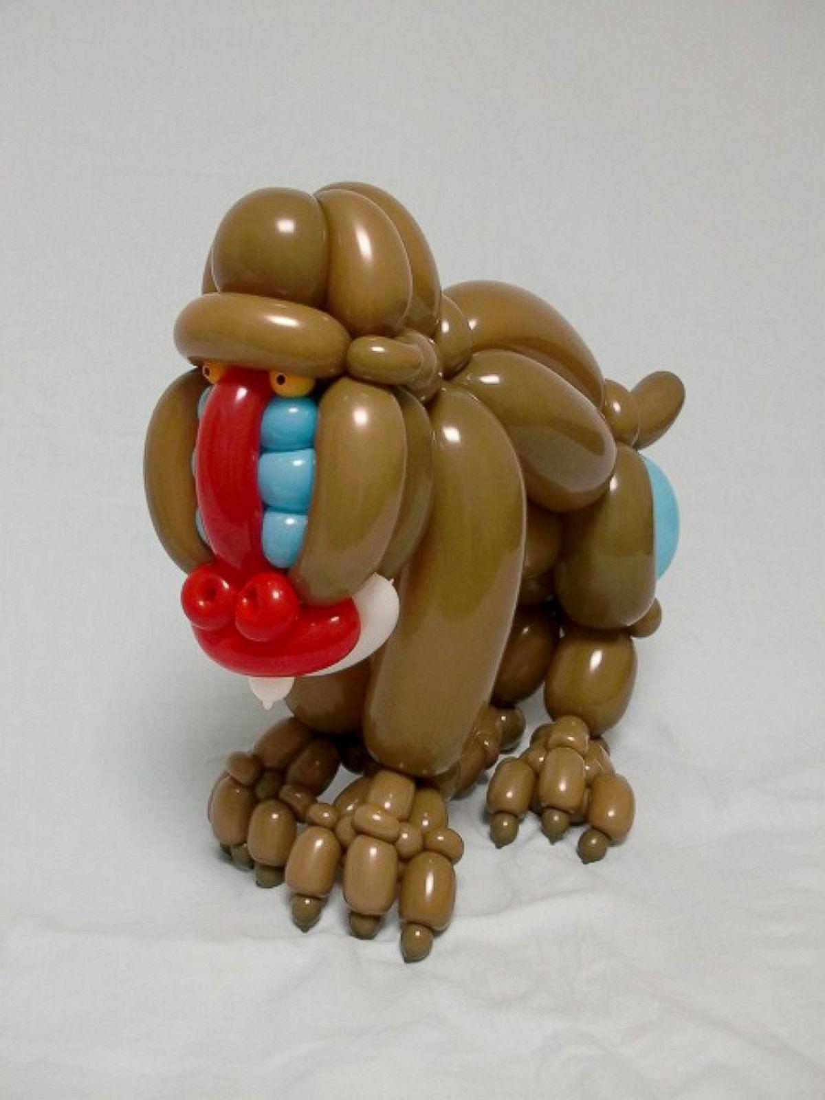 Как из шаров сделать животных из