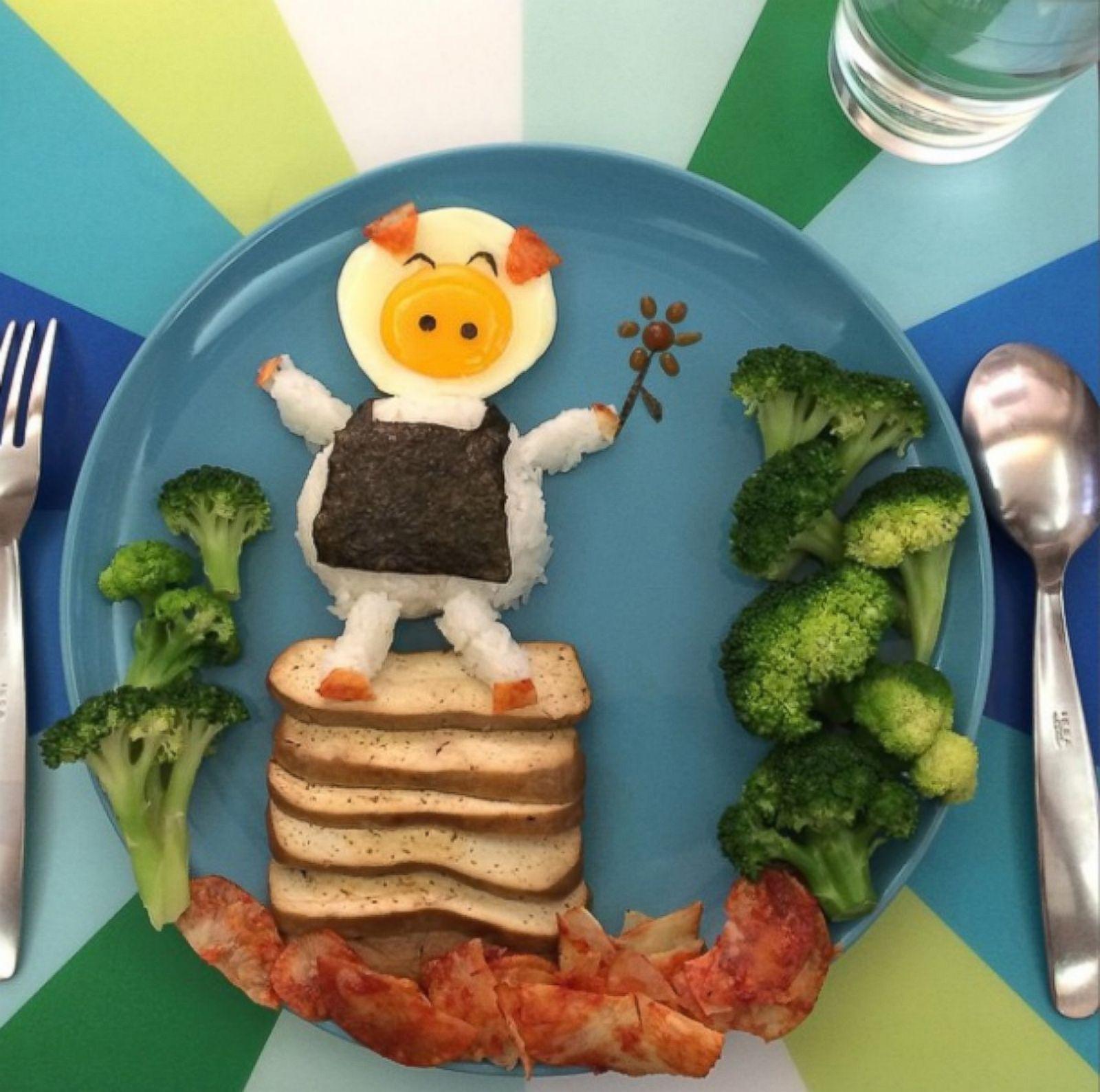 Прикольные блюда для детей