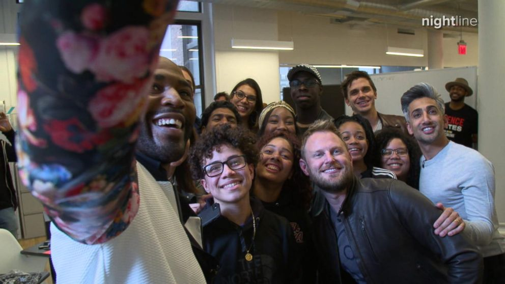 VIDEO: Queer Eyes Fab Five surprises LGBTQ students and allies from GSA clubs in NYC