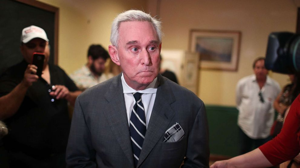Roger Stone 'not concerned' he failed to tell Congress about 2016 Russia contact