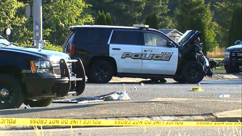 WATCH:  Police officer killed during chase by fellow officer