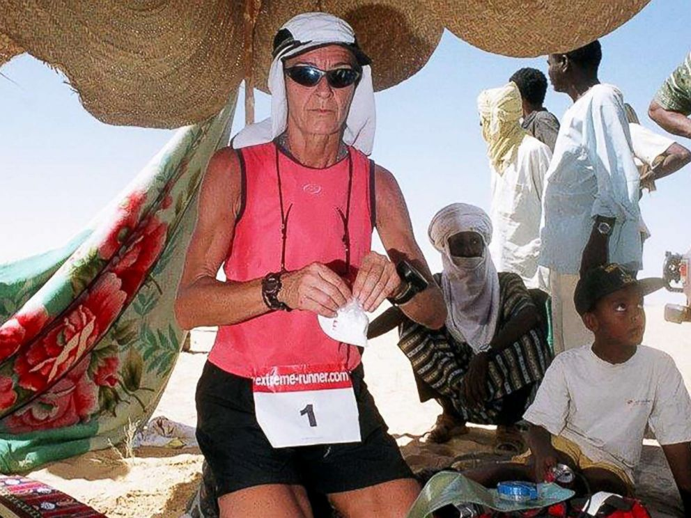 PHOTO: Alicja Barahona on her way to winning the Niger Trans 555km race