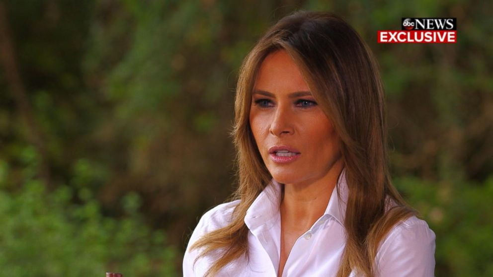 WATCH:  First lady Melania Trump not holding back