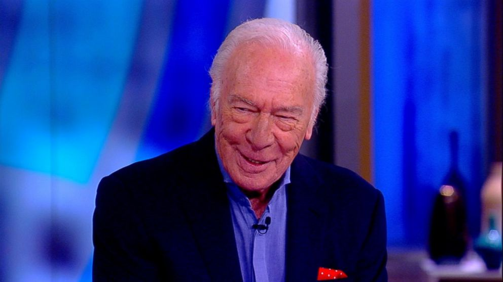 WATCH:  Christopher Plummer on replacing Kevin Spacey in 'All The Money In The World'