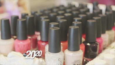 Nail Salon Health Hazards Revealed Video - ABC News