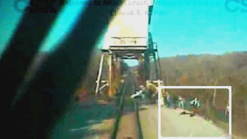 video shows train involved in death of a midnight rider