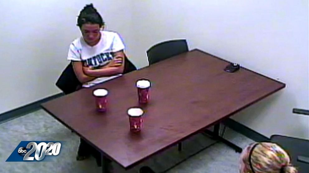 VIDEO: Woman Acts Bizarrely in Interrogation Room After Killing Boyfriend