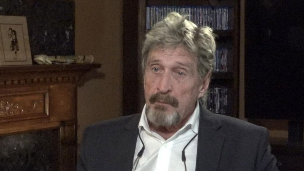 VIDEO: Cybersecurity pioneer John McAfee addresses Belize neighbor murder allegations