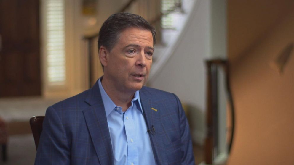 """Loretta Lynch, the former attorney general, could not """"credibly"""" take the lead on announcements about the Clinton email investigation, Comey told ABC News' George Stephanopoulos."""