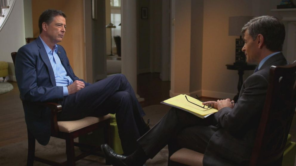 Transcript James Comeyu0027s interview with ABC News