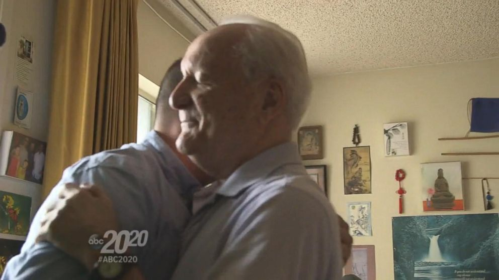 VIDEO: 'You must be Ben': Man meets biological father for the first time