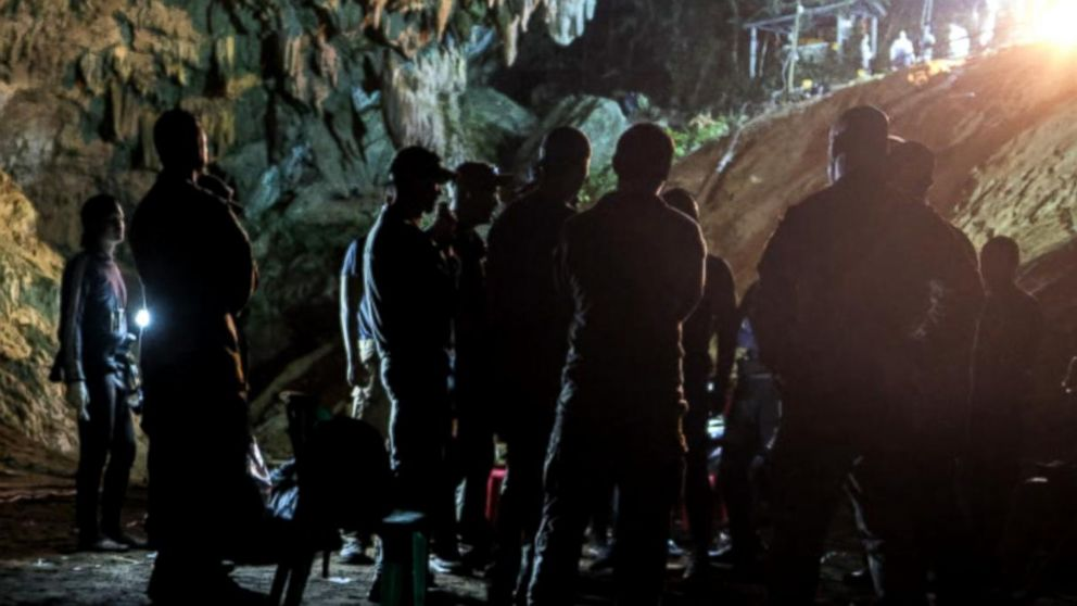 Thai cave rescuers, who sedated boys, coach to get them out