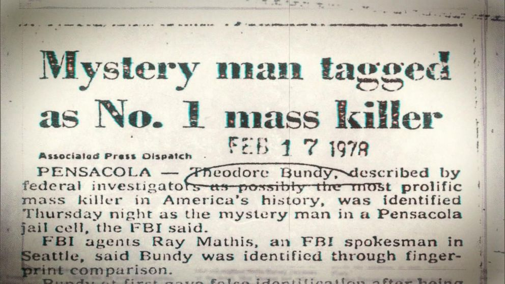 Florida police arrest Ted Bundy, who initially refuses to reveal his identity: Part 8