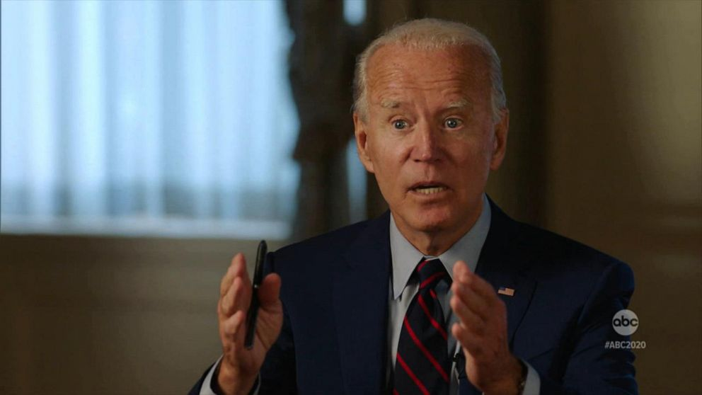 Joe Biden Kamala Harris Talk Covid 19 And Taxes With Abc S David Muir Part 1 Video Abc News