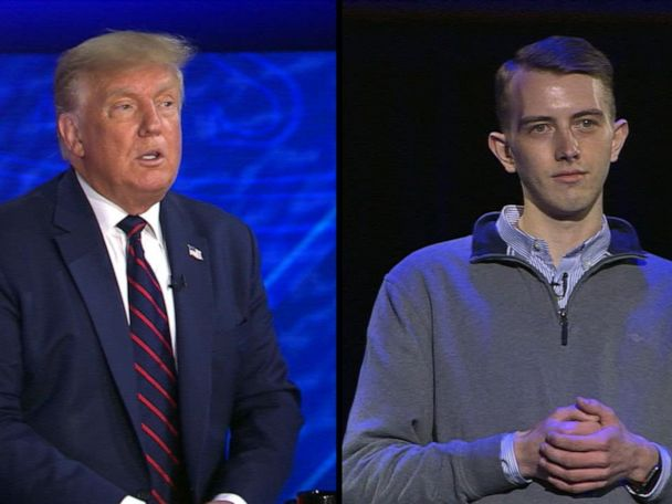 WATCH:  Trump on ABC News town hall: 'We have to give police back that strength'
