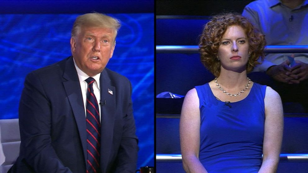Trump on ABC News town hall: 'I learned life is very fragile' dealing with COVID-19