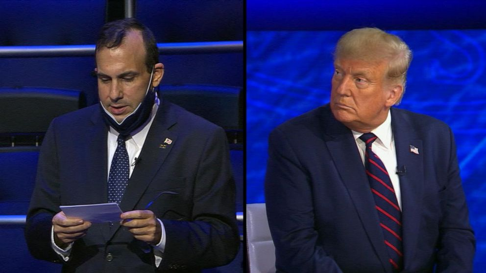 Trump on ABC News town hall: 'We've done a tremendous job' with COVID-19 response
