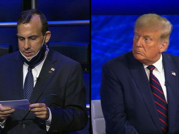 WATCH:  Trump on ABC News town hall: 'We've done a tremendous job' with COVID-19 response