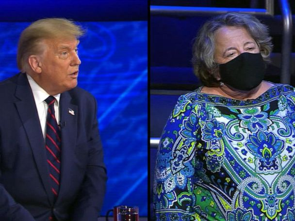 WATCH:  Trump's ABC News town hall: Trump responds to a question on a national mask mandate