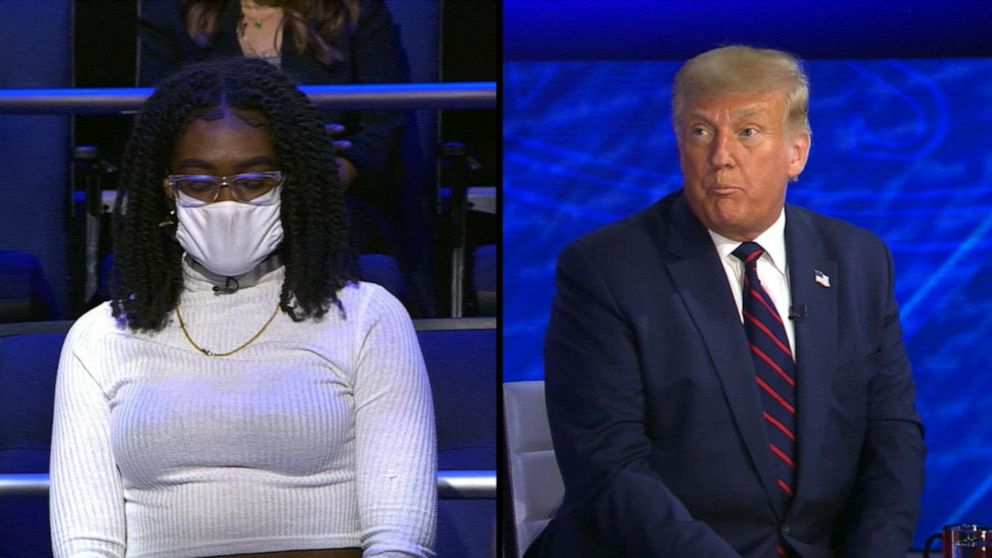 Trump on ABC News town hall: Trump on why there wasn't a national COVID-19 shutdown