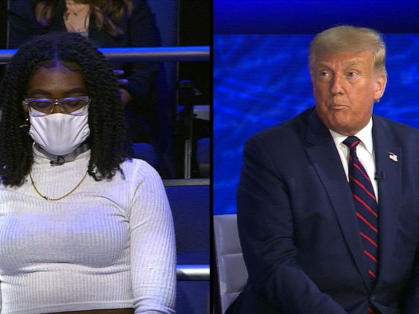 WATCH:  Trump on ABC News town hall: Trump on why there wasn't a national COVID-19 shutdown