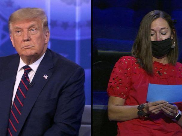 WATCH:  Trump on ABC News town hall: George Floyd, Breonna Taylor killings 'tragic events'