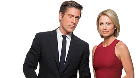 David Muir and Amy Robach
