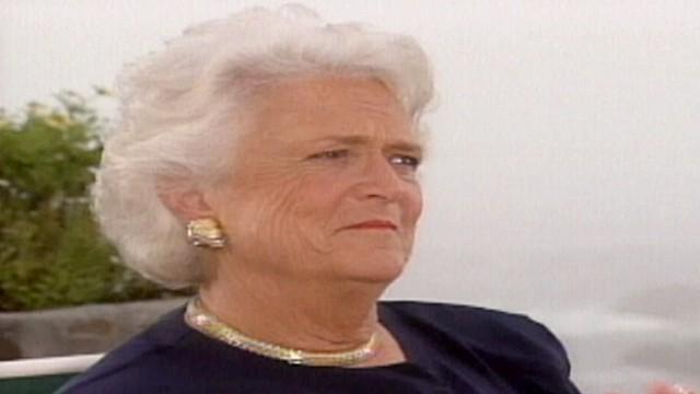 One Thing Barbara Bush Isn't Proud Of