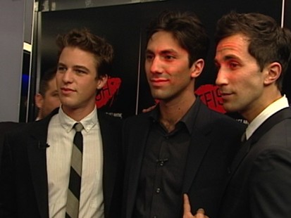 VIDEO: Behind the scenes at movies premiere with Nev and Ariel Schulman, Henry Joost.