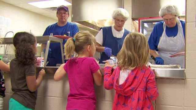 VIDEO: Inside the school that used a music video to kick off a school lunch rebellion.