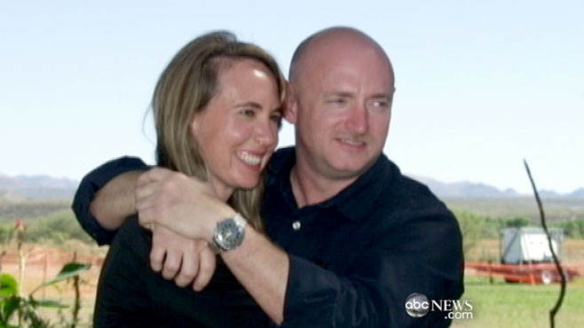 VIDEO: Part 1: Mark Kelly talks about wife Gabrielle Giffords? medical condition.