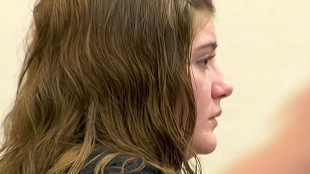 VIDEO: The jury finds Justine Winter guilty of deliberate homicide.