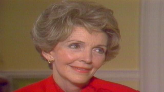 Nancy Reagan Recalls President Reagan Being Shot