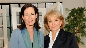 Jenny Sanford with Barbara Walters